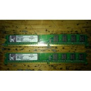 Ram Barrette Mémoire Kingston 1Go DDR2 KVR667D2N5/1G PC2-5300 CL5 NEUF