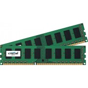 Crucial RAM Kit 8 GB (2x4 GB), DDR3L, 1600 MT/s, 1.35 V, PC3-12800, UDIMM