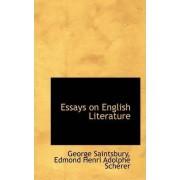 Essays on English Literature by George Saintsbury