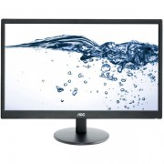 "Monitor LED AOC 24"" E2470SWDA, Full HD (1920 x 1080), VGA, DVI, 5 ms (Negru)"