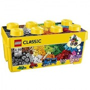 LEGO Classic Creative Building Set with 484 Pieces in Plastic Storage Box (10696)