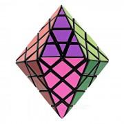 Educativo irregular dodecaedro magia IQ cubo rompecabezas de juguete - negro