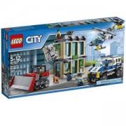 Конструктор ЛЕГО Сити - Взлом с булдозер - LEGO City Police, 60140