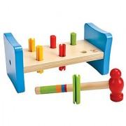 Hape First Pounder Toddler Wooden Hammer Tool