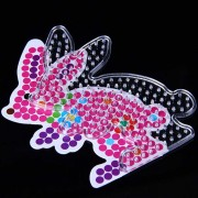 L'Intelligence créatrice bricolage Mini Puzzles pois petit lapin rose Cartoon Jigsaw Puzzle