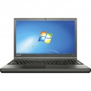 "Notebook Lenovo ThinkPad T540p, 15.6"" Full HD, Intel Core i5-4210U, RAM 4GB, SSD 256GB, Windows 7 Pro / 10 Pro, Negru"