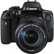 Canon eos 750d + 18-135mm f/3.5-5.6 is stm - man. ita - 2 anni di garanzia