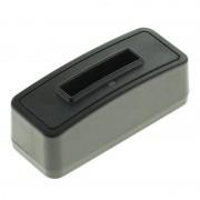 Carregador de Bateria para Canon NB-4L - Preto