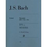 Toccaten BWV 910-916 by Johann Sebastian Bach