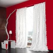 "Vorhang ""Rixa"", 1 Vorhang, 163 x 245 cm - Weiß"