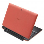 ACER Aspire Switch SW3-013-13Y7/10.1 IPS HD 1280 x 800 Multi-Touch/Intel® HD/Intel® Quad-core (4 Core) Atom™ Z3735G/1x1GB /32GB SSD+500GB/ 802.11a/b/g/n/BT/2CELL/Windows 10 + OFFICE 365 Personal, Coral Red