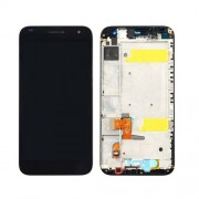 iPartsBuy Huawei Ascend G7 LCD Screen + Touch Screen Digitizer Assembly with Frame(Black)