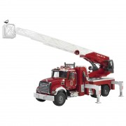 Bruder MACK Granite Fire Truck - Red - 2821