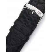 Morellato A01U3932A68019CR22 negru Alligator Curea 22mm