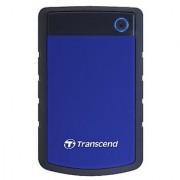 Transcend TS1TSJ25H3B Storejet 1Tb Portable Usb Hard Disk - Blue