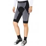 X-Bionic The Trick Biking Comfort Pants Short Women Black/White L Velohosen kurz ohne Tr