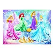 Nathan - Jigsaw Puzzle - 86720 Sparkling Classic Child - Disney Princess - Princesses - 100 Pieces