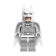 LEGO Arctic Color Blanco Batman Minifigura