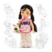 Disney Princess Animators Collection 16 Inch Doll Figure Mulan by Disney