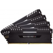 Corsair Vengeance RGB 32GB (4 x 8GB) DDR4-3466 C16 Desktop Memory Module with Black Vengeance LED Heatspreader