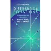 Difference Equations by Walter G. Kelley