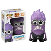 Evil Minion - Purple: Funko POP! x Despicable Me 2 Vinyl Figure
