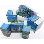 Puzzle Cube, Southern California Beach, Long Beach, Palm Springs, Hollywood, Staples Center, Santa Monica Pier, Souvenir, Folding Puzzles Cube