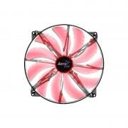 Ventilator Aerocool Silent Master Red LED 200 mm