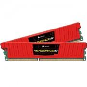 Memorie Corsair Vengeance Low Profile Red 8GB (2x4GB) DDR3 PC3-15000 CL9 1866MHz 1.5V XMP Dual Channel Kit, CML8GX3M2A1866C9R