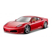 Bburago 1:24 Scale Ferrari Race And Play F430 Diecast Vehicle (Colors May Vary) [Parallel Import Goods]