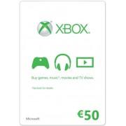 Microsoft Xbox Live €50 Gift Card - Xbox360/XboxOne (Key/Code)