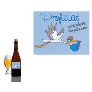 Bierpakket Bierfles Proficiat met geboorte van jullie zoon