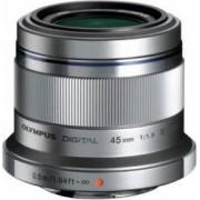Obiectiv Foto Olympus M.Zuiko Digital 45mm f1.8 Silver