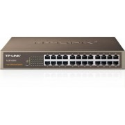 SWITCH 24 PORTURI 10/100 TP-LINK TL-SF1024D, CARCASA METALICA,RACK 13""