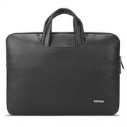 POFOKO New Lita 13.3 inch Portable Quality Waterproof Laptop Bag for Laptop Notebook(Black)