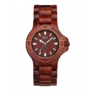 Wewood Watches Date Brown Watch