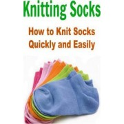 Knitting Socks by Salma Hayek