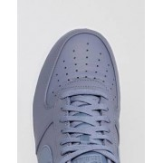 Nike Air Force 1 '07 Premium Trainers In Blue 905345-003 - Blue
