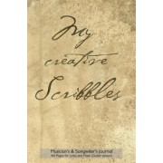 Musician's & Songwriter's Journal 160 Pages for Lyrics and Music (Guitar Version) by Spicy Journals