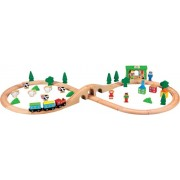 Houten Trein Set - 50 delen