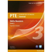 Pearson Test of English General Skills Booster 3 Teacher's Book and CD Pack by Steve Baxter