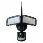Projetor LED 18W 600Lm c/ Sensor/Câmara/Wi-Fi 6000K b