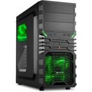 Sharkoon VG4-W - PC Behuizing / Groen