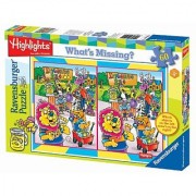 Highlights: Lemonade Stand 60 Piece What's Missing Puzzle