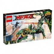 Lego ninjago movie drago mech ninja verde
