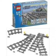 Lego Klocki LEGO City 7895 Zwrotnica kolejowa + DARMOWY TRANSPORT!