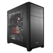 Corsair (CC-9011029-WW) case performance gaming Micro-ATX Obsidian 350D con finestra laterale colore nero