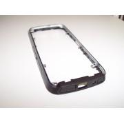 Carcasa telefon Nokia 5800x mijloc exterior negru cu gri