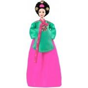 Dolls of the World: Princess of the Korean Court Barbie Mattel by Mattel