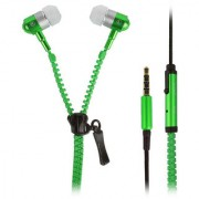99 DEALS UNIVERSAL ZIPPER EARPHONE with 3.5mm jack & Compatible for Micromax A94 Canvas Mad